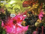 ultimates 3 savage land wolverine dinosaur 034