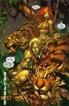 ultimates 3 savage land wolverine dinosaur 036-a