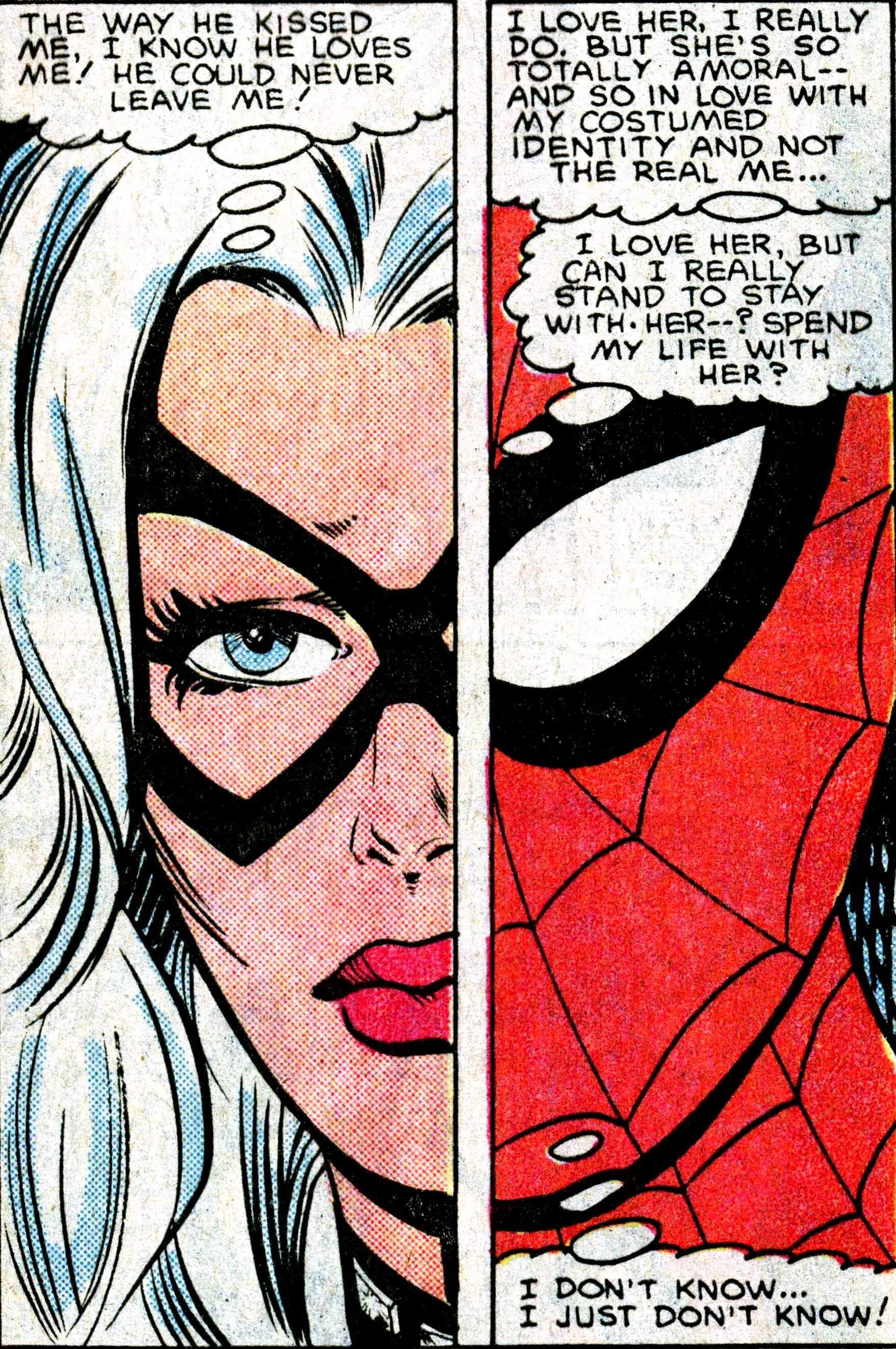 SPOILERS Nothing but Superior Spider-man Spoilers ... Spiderman And Blackcat