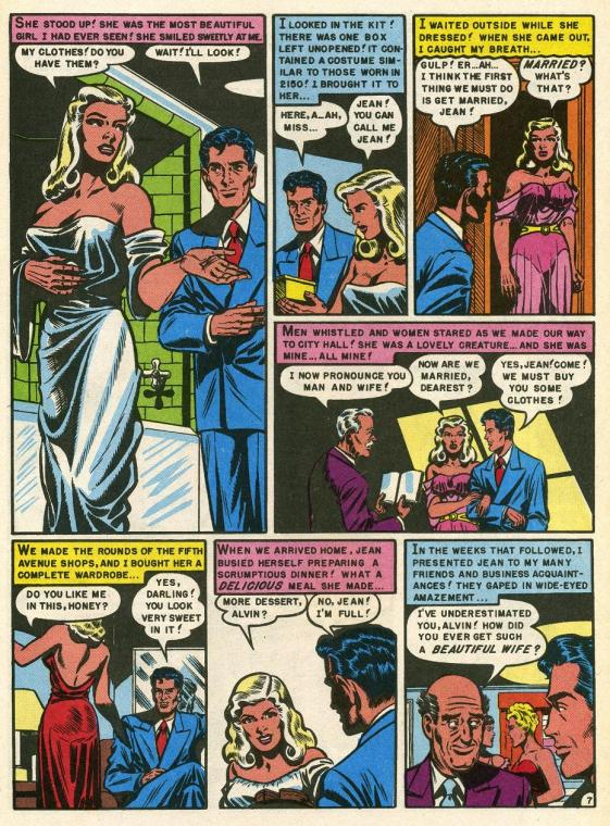 Download image Ec Comics Weird Science PC, Android, iPhone and iPad