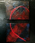 abstract diptych 1
