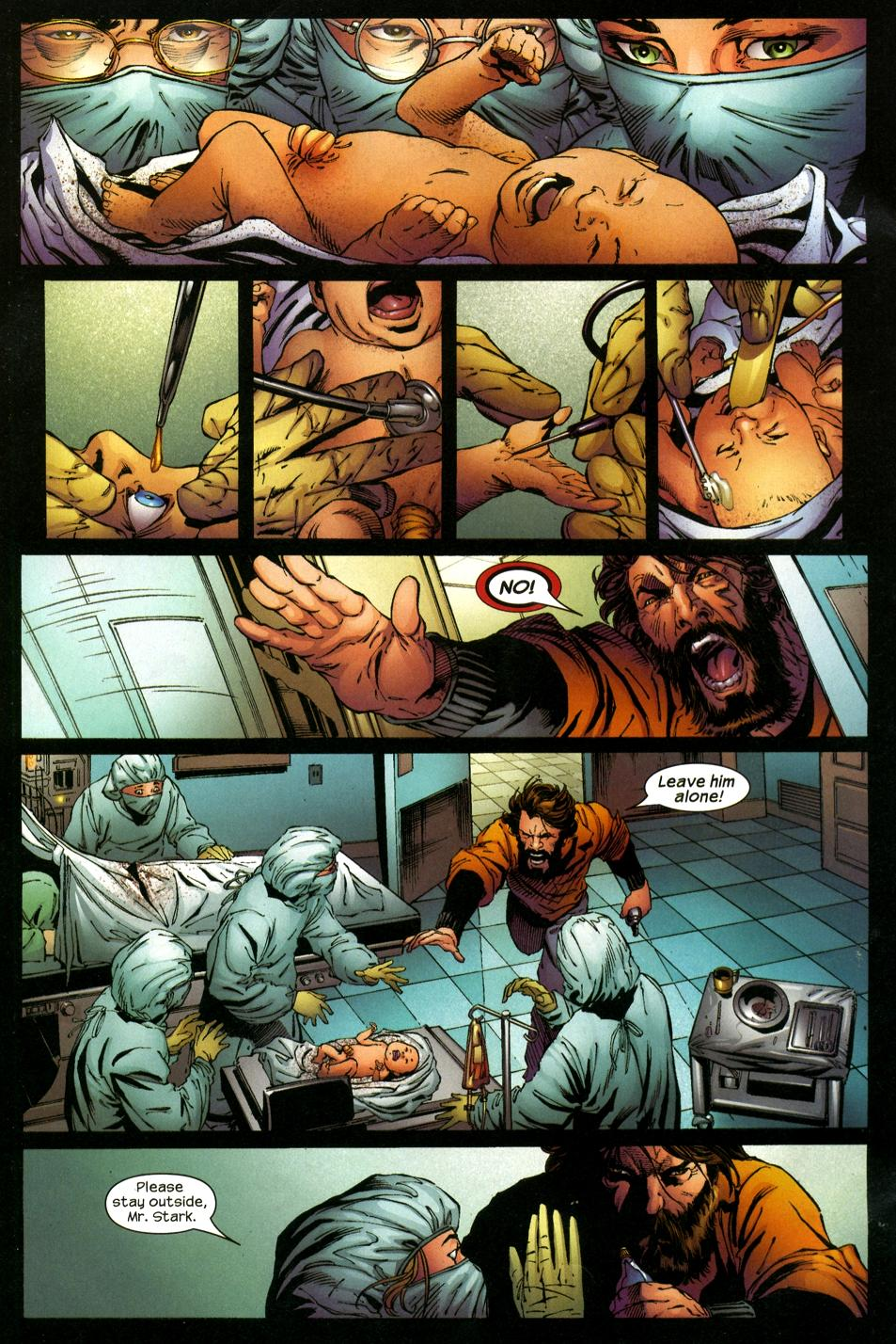 birth of iron man003 | Mars Will Send No More