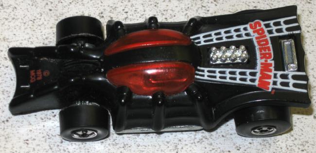 Mattel Hot Wheels Spider-Car  Mars Will Send No More-3340
