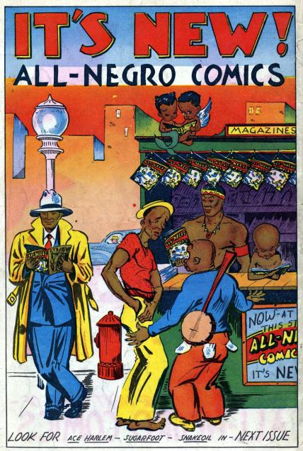 Image result for all negro comics