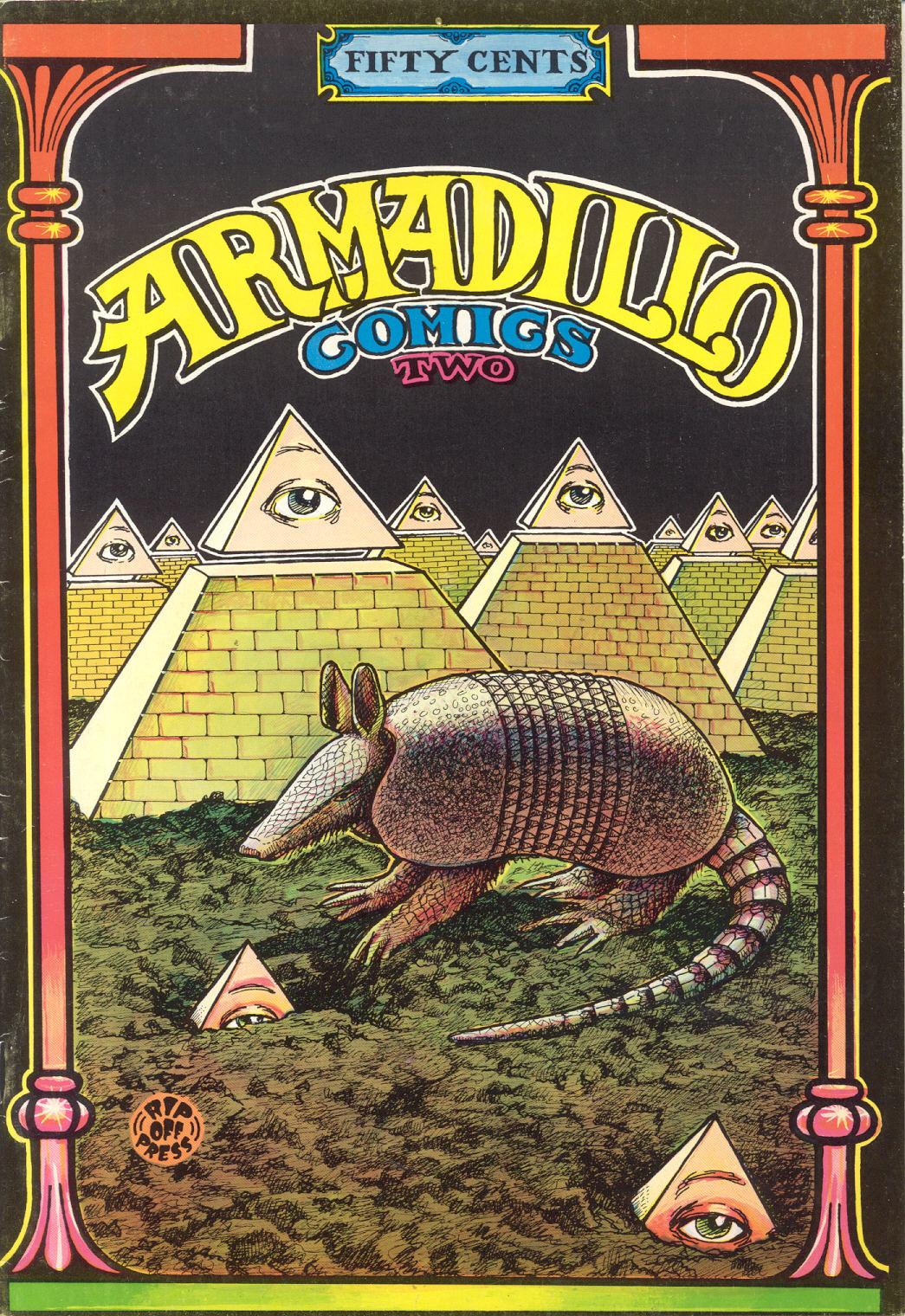 Armadillo Comics 02-1-01