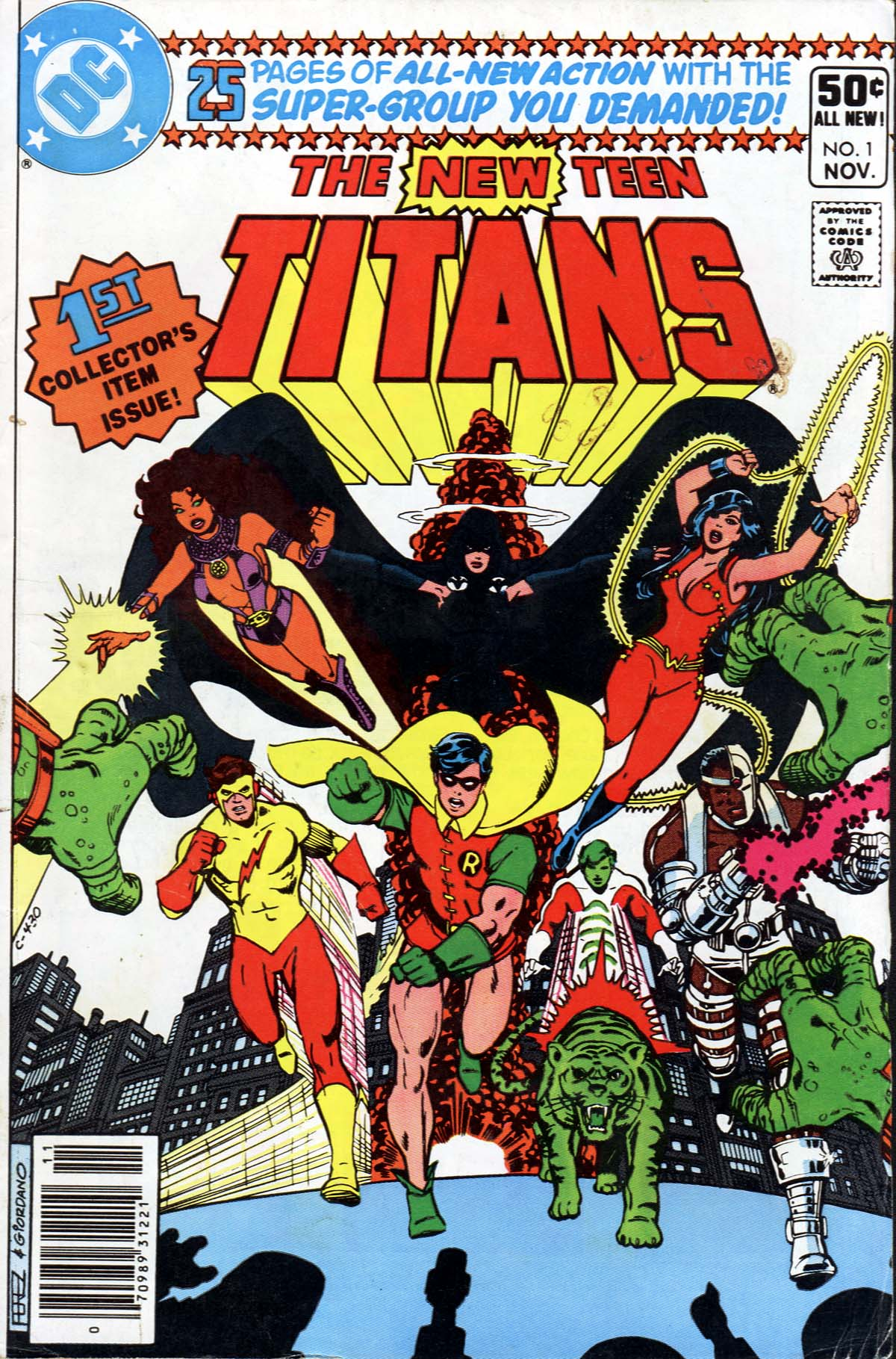 New Teen Titans Far-Out First Issue  Mars Will Send No More-1036