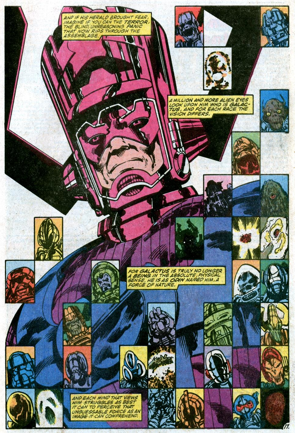 Marvel: 15 Things You Never Knew About Galactus