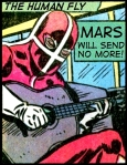 human fly guitar lettered 3
