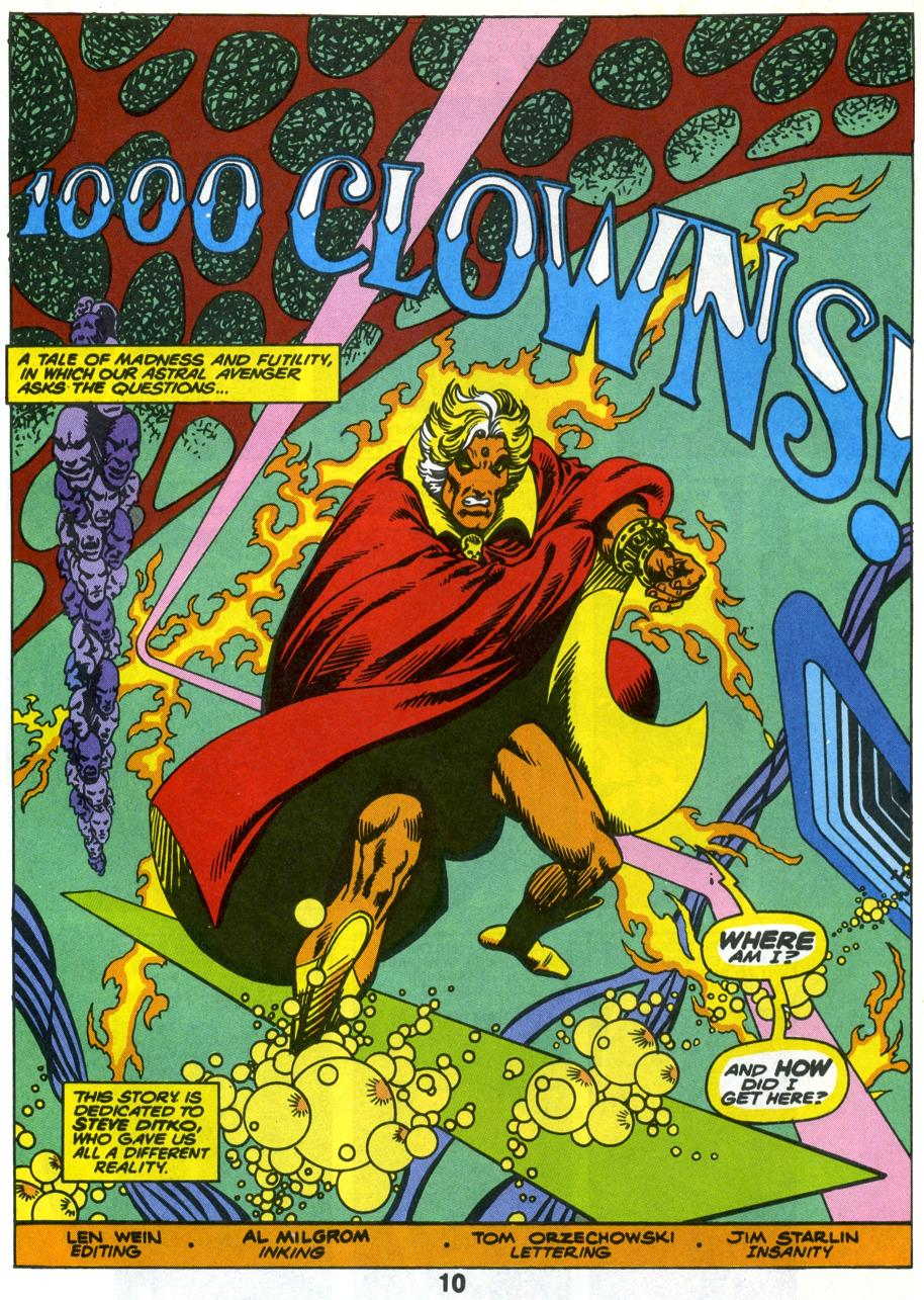 Image result for jim starlin warlock covers 100 clowns
