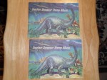 sinclair dinosaur stamps - (11)