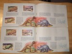 sinclair dinosaur stamps - (12)