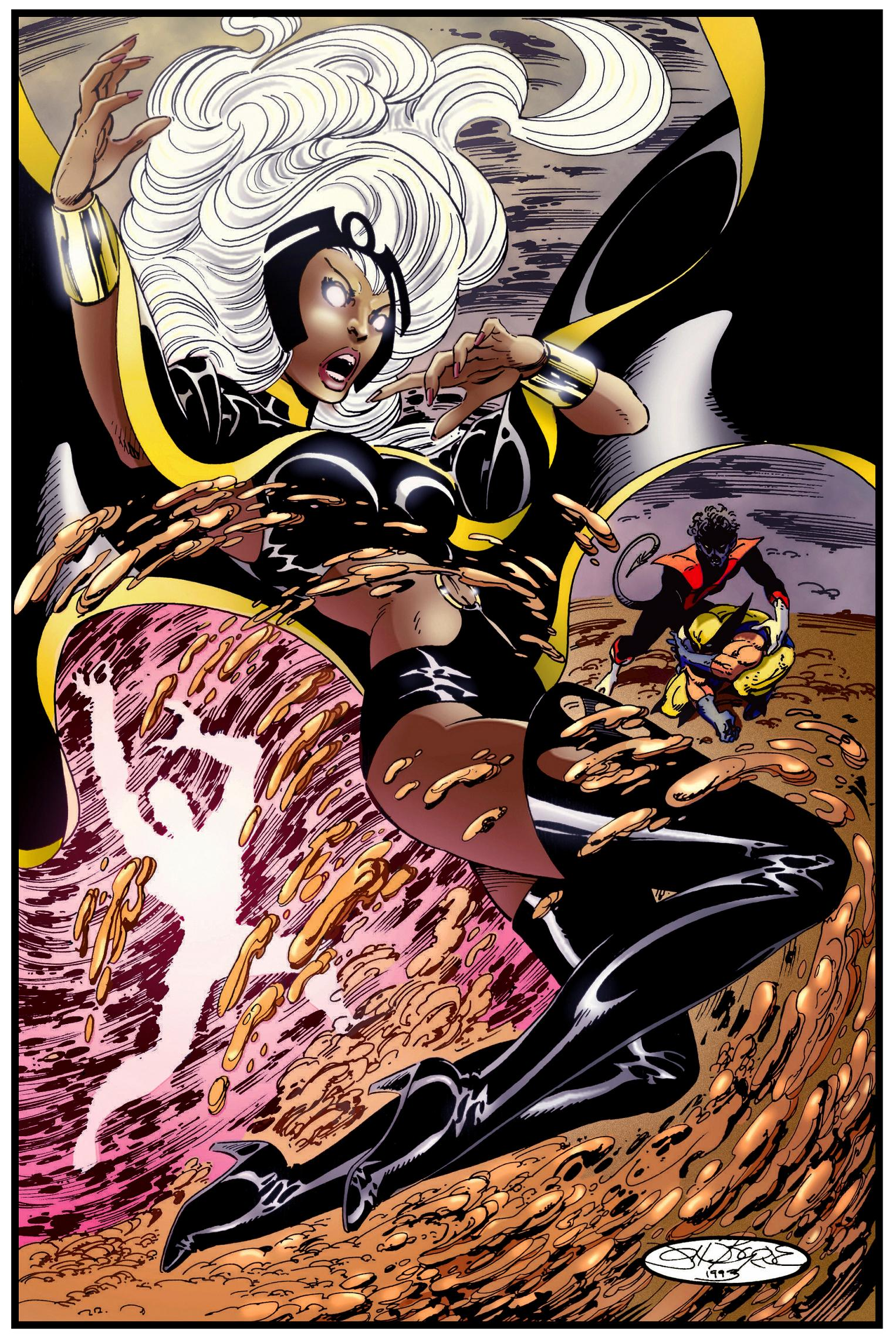 X Men Storm Drawing