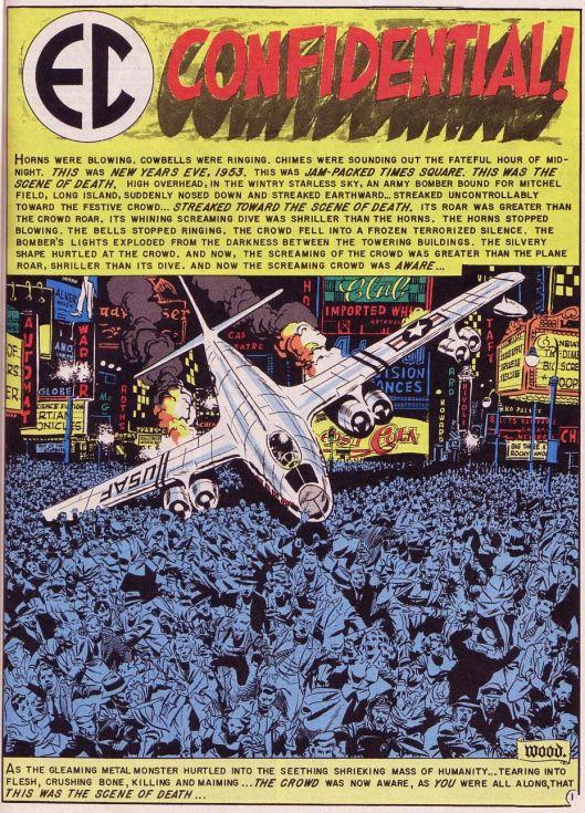 EC Comics Weird Science Fantasy #28 Silver Age Comic Fine -