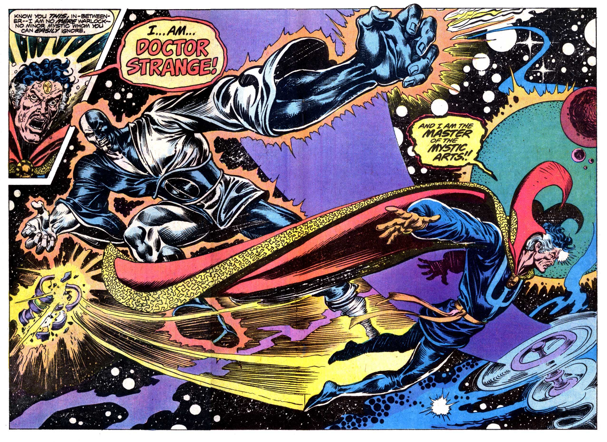Doctor Strange Vs The In Betweener Round Two Mars