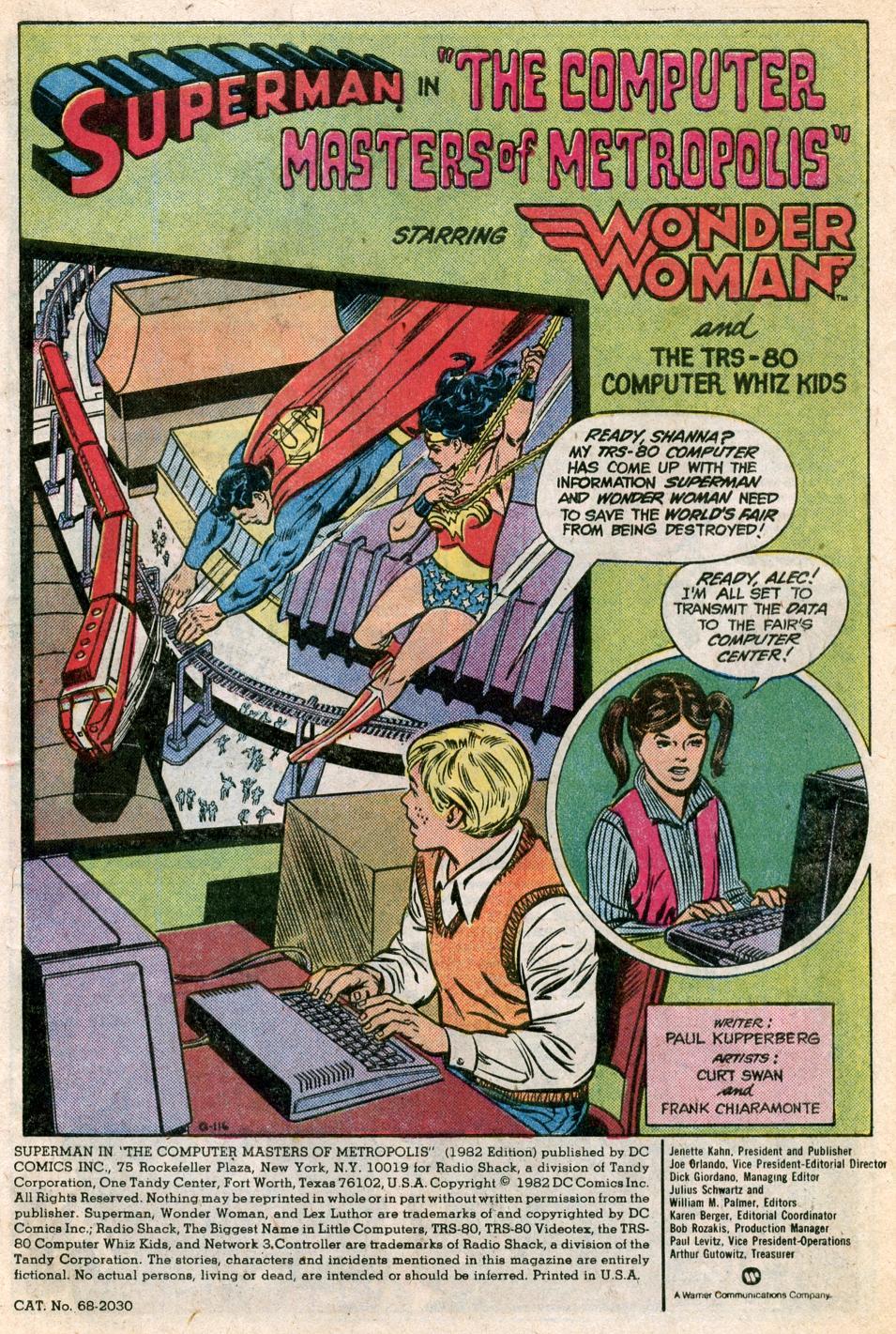 Tandy Whiz Kids Save Metropolis with 1982 Computer Tech