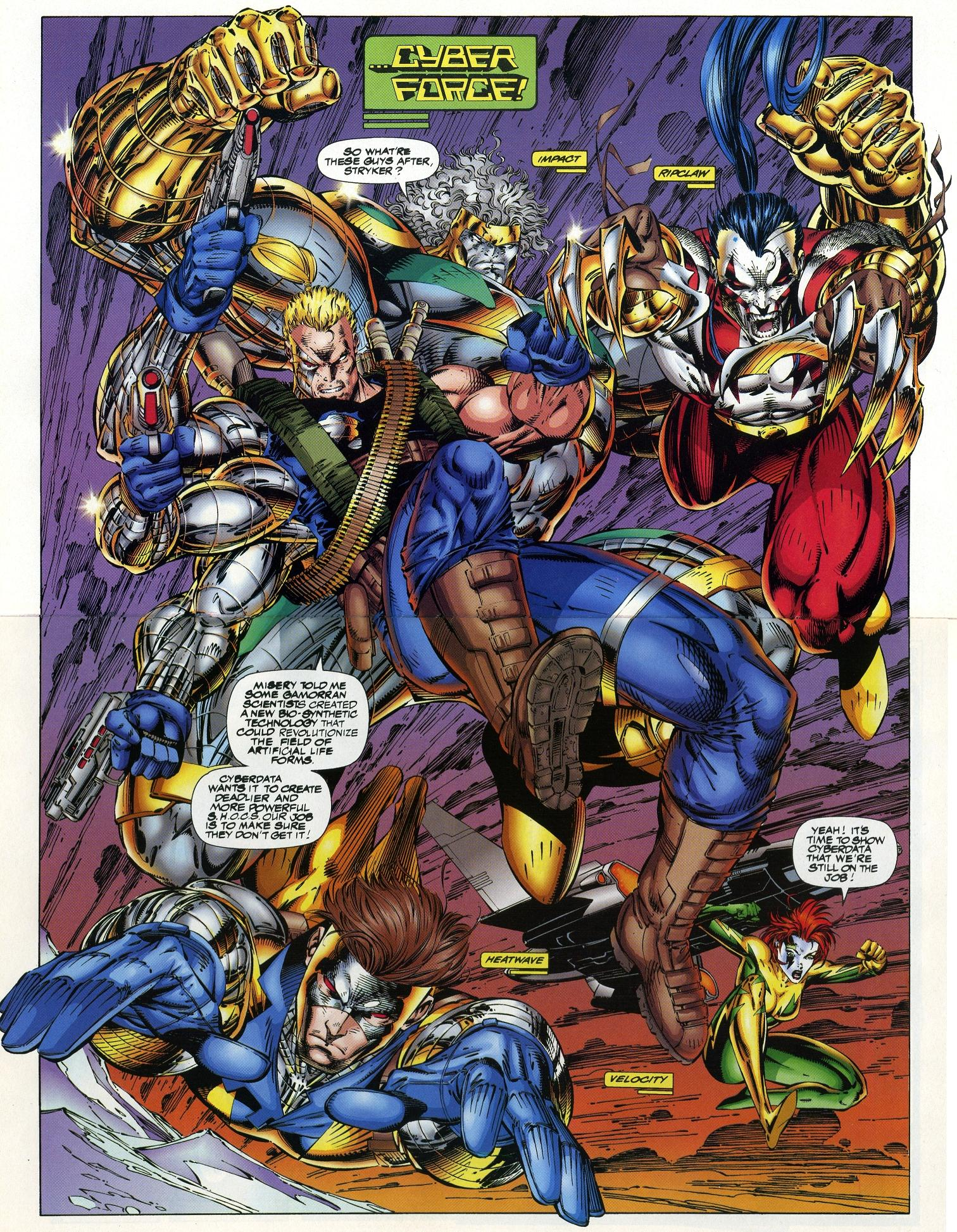 wildcats gallery cyberforce crossover by jim lee mars