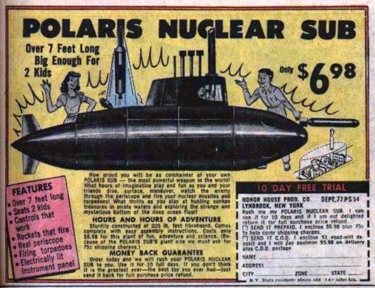 1967 nuclear sub