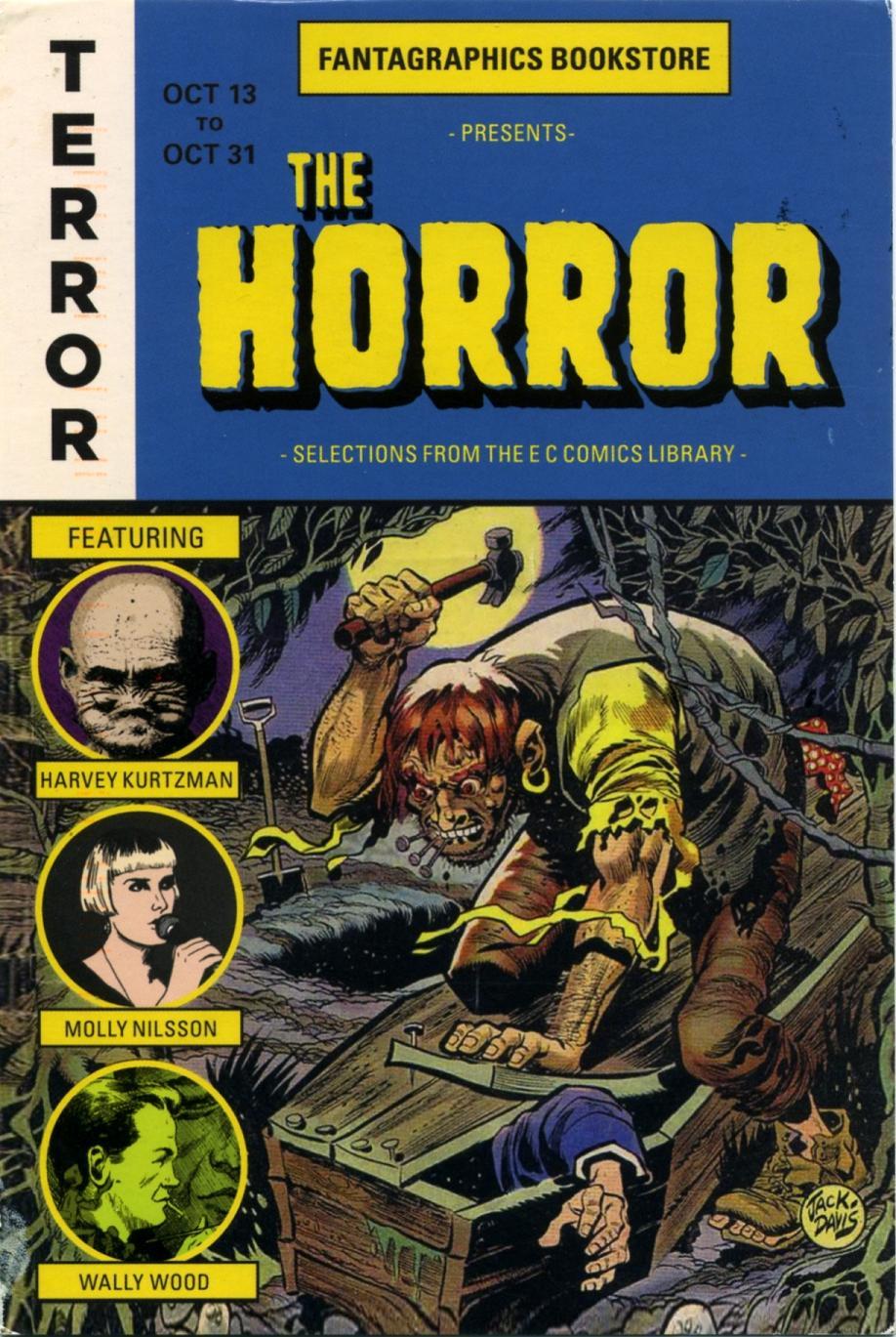 fantagraphics ec comics postcard -002
