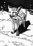 baby fox 5x7 drawing - Copy