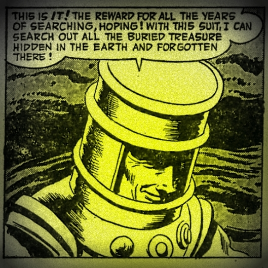 earth diving suit