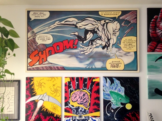 silver surfer painting by iain 6