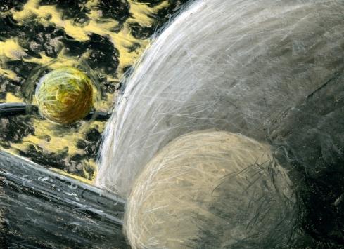 charcoal planets 1