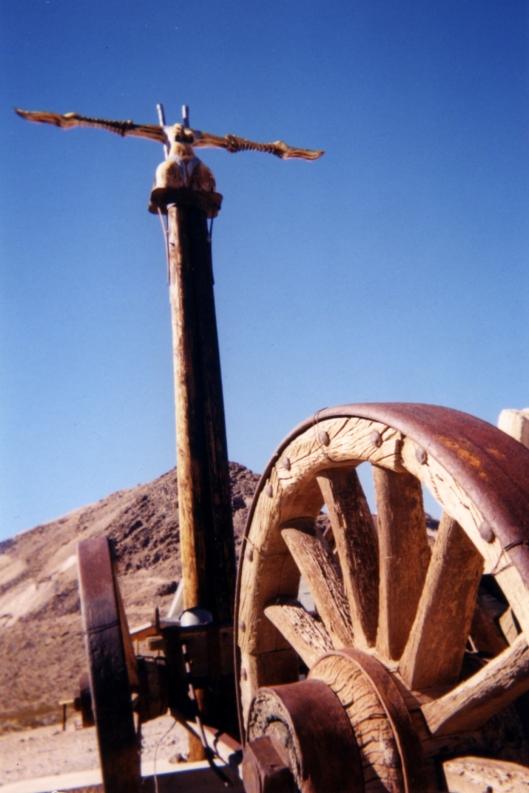 nevada desert -010 rhyolite 1