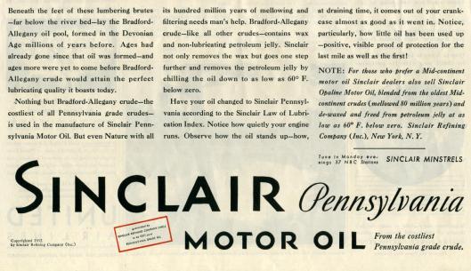sinclair ads 1932 saturday evening post-006