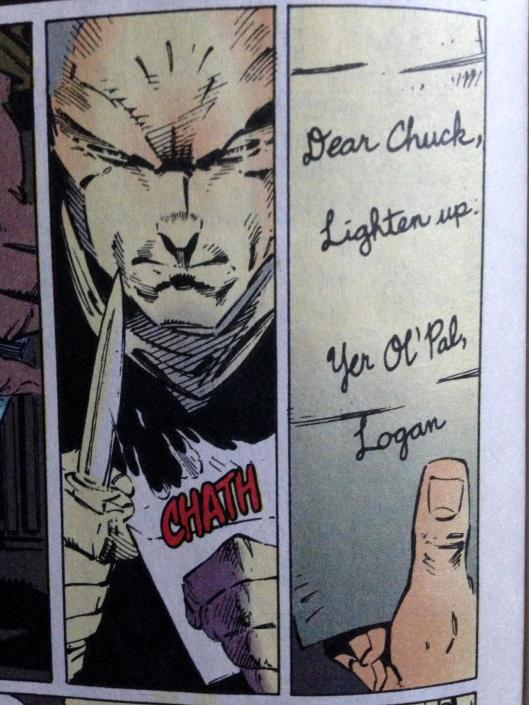x-men 30 chuck lighten up
