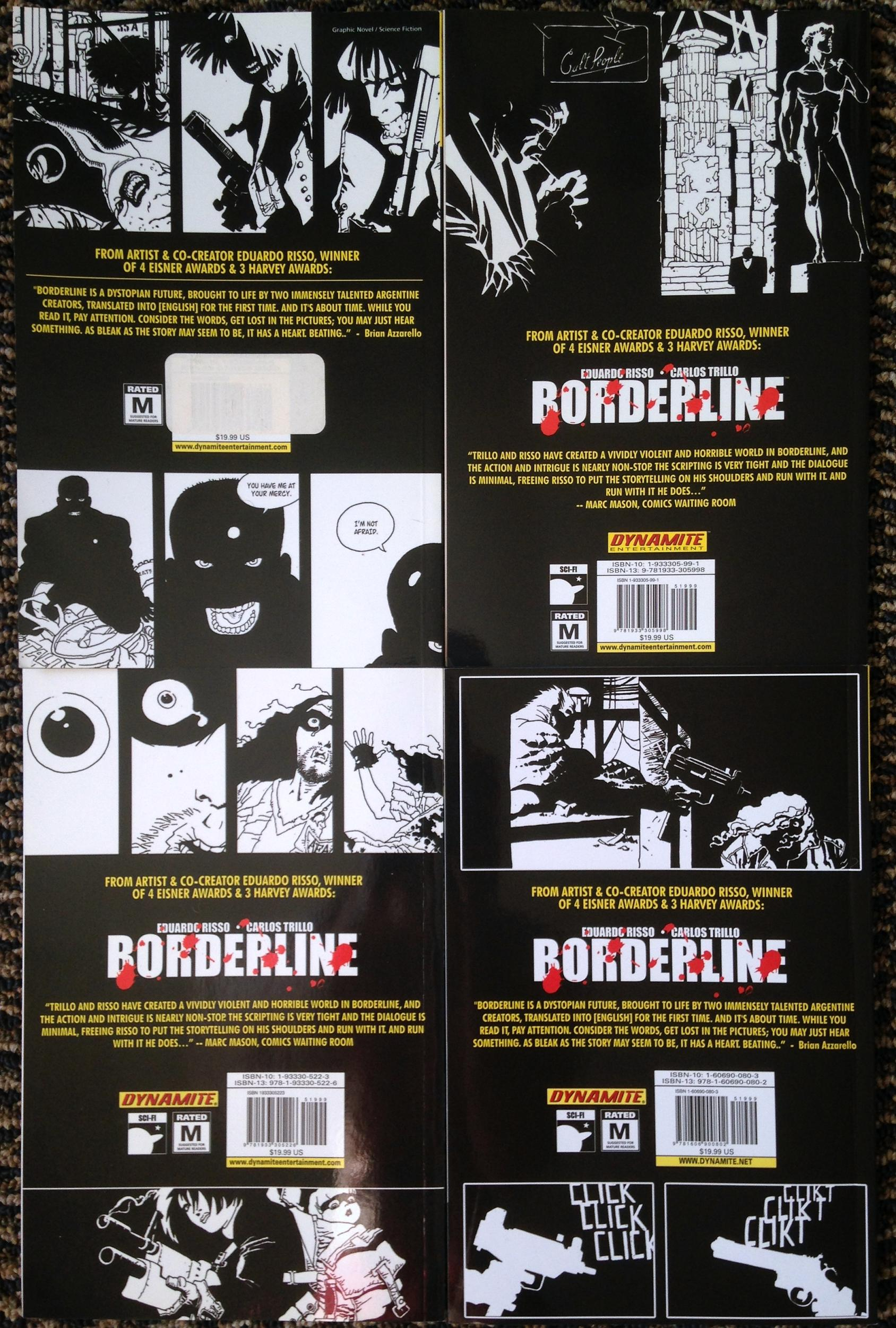 Borderline TPB Collection - (3)