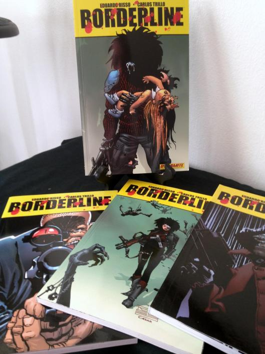Borderline TPB Collection - (4)