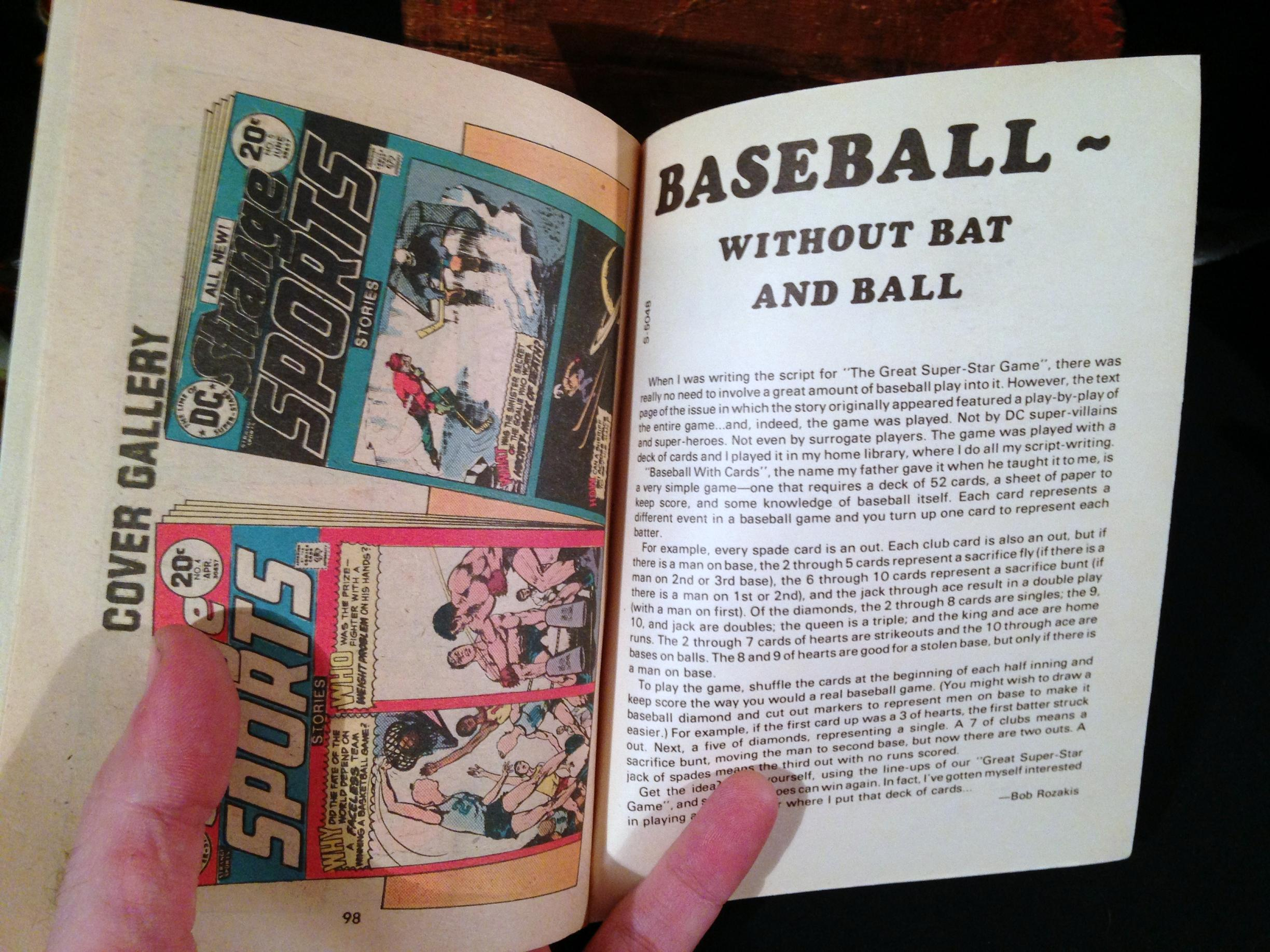DC Special Blue Ribbon Digest Strange Sports (14)