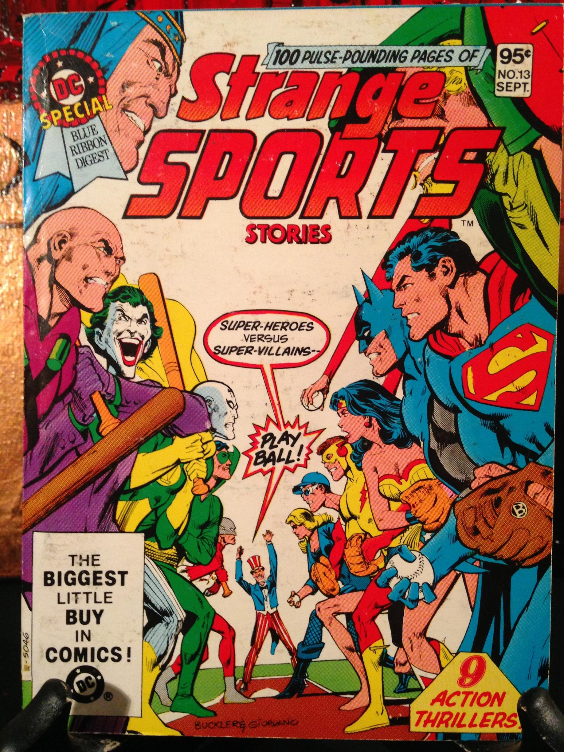 DC Special Blue Ribbon Digest Strange Sports (2)