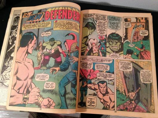Defenders Marvel Treasury Edition - (14)