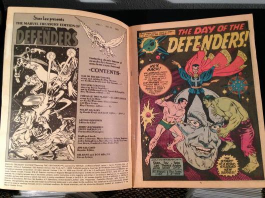 Defenders Marvel Treasury Edition - (15)