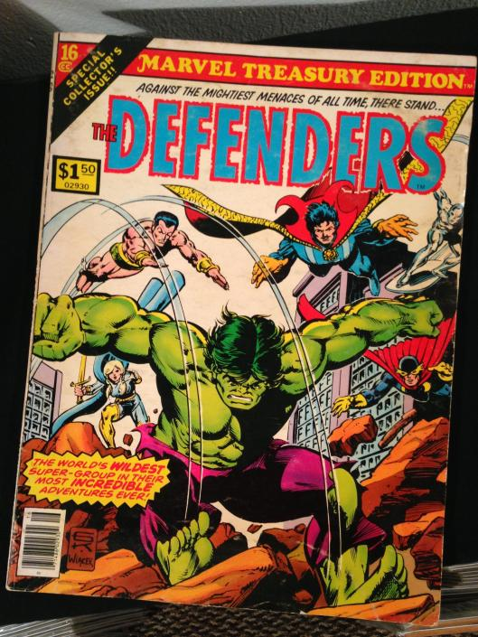Defenders Marvel Treasury Edition - (2)