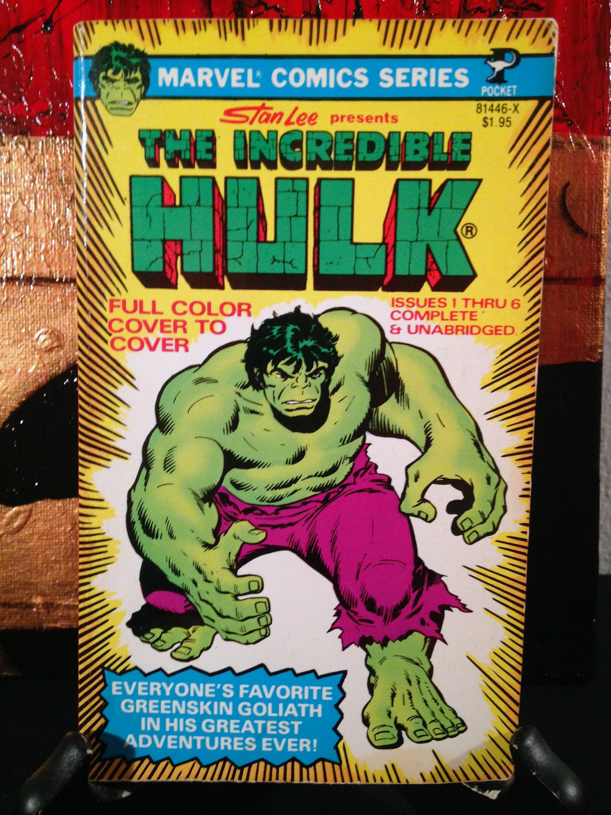Hulk Pocket Book 1978  (2)