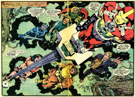 jack kirby mister miracle splash panels- (30)