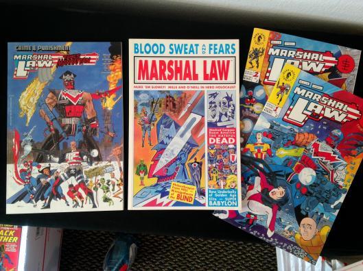Marshal Law TPB Set (2)