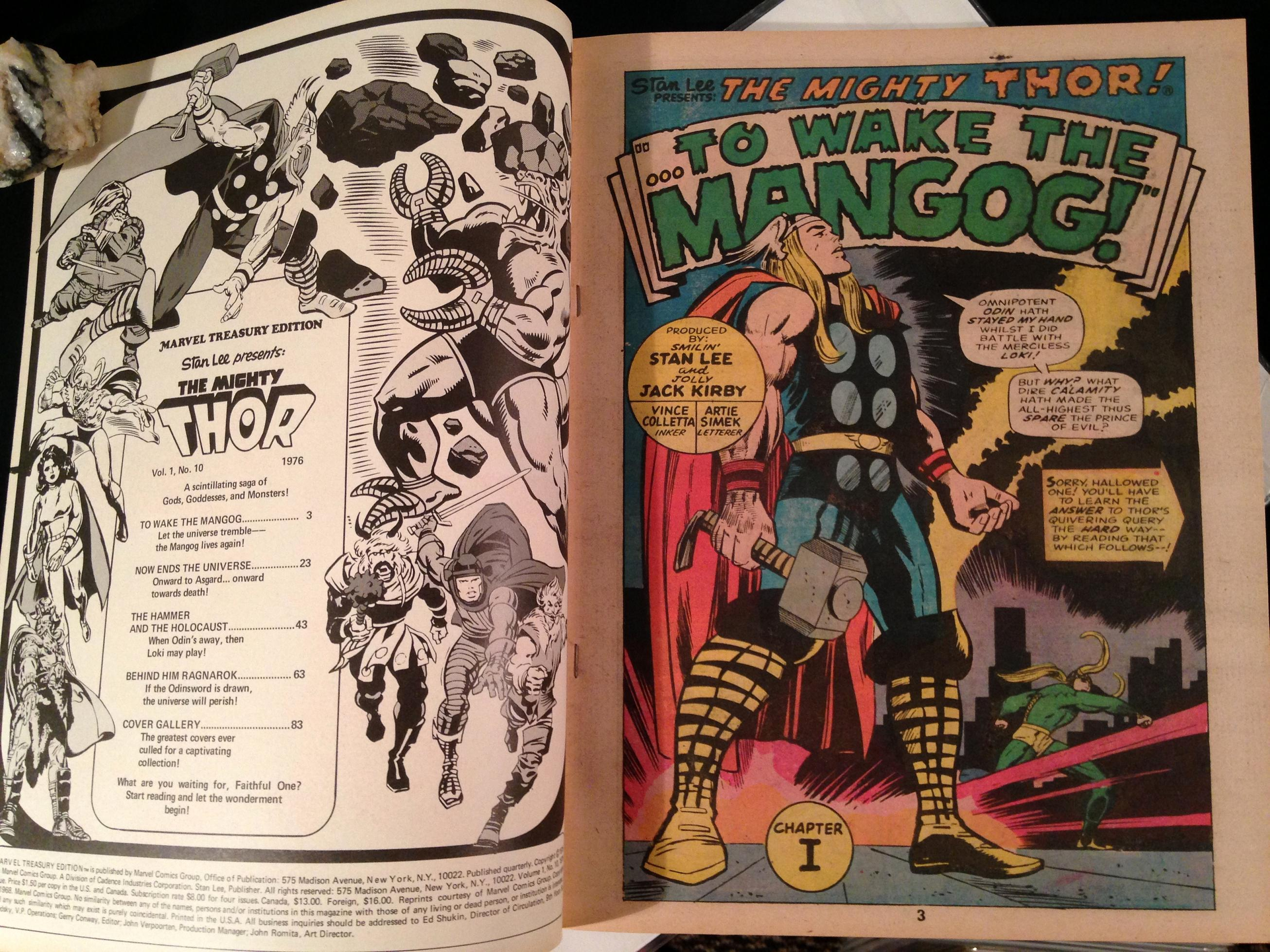 Marvel Treasury Edition 10 Mighty Thor (4)