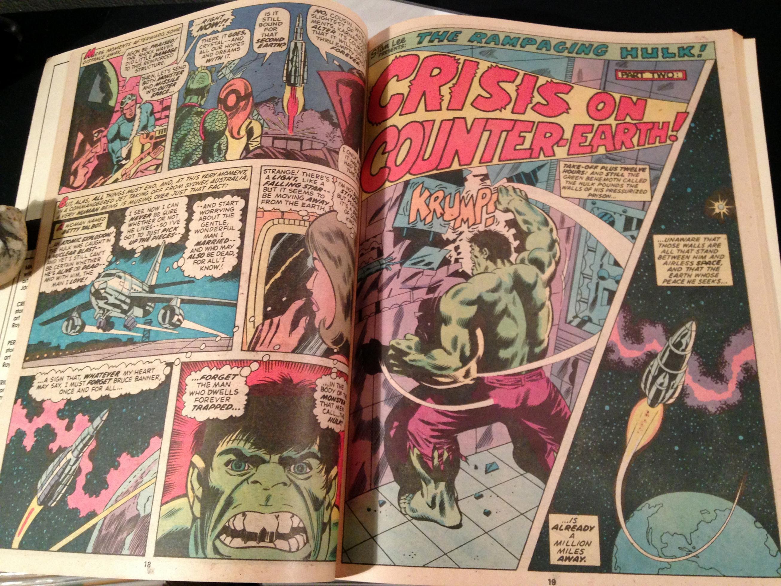 Marvel Treasury Edition 24 Rampaging Hulk Warlock (11)