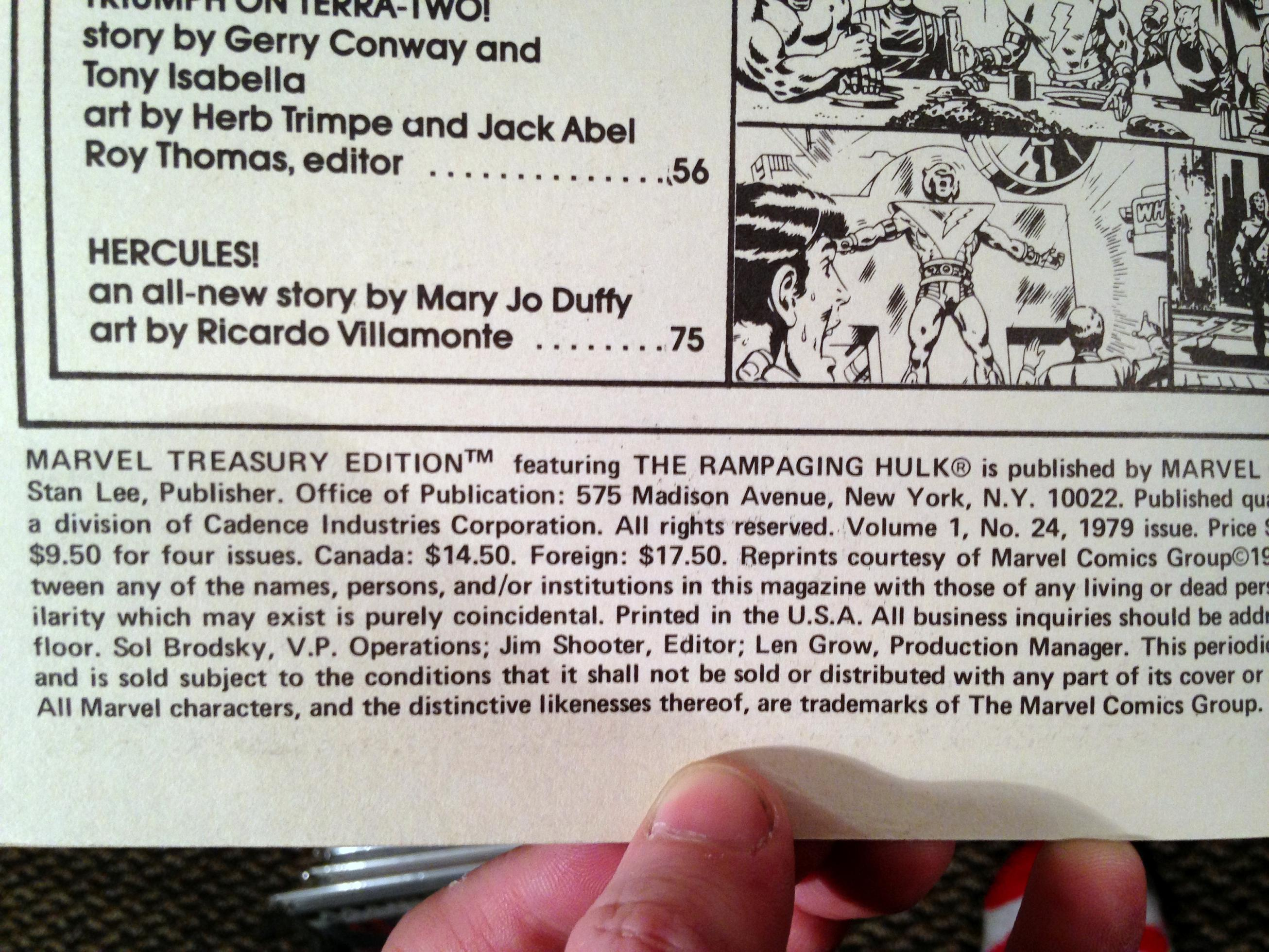 Marvel Treasury Edition 24 Rampaging Hulk Warlock (13)
