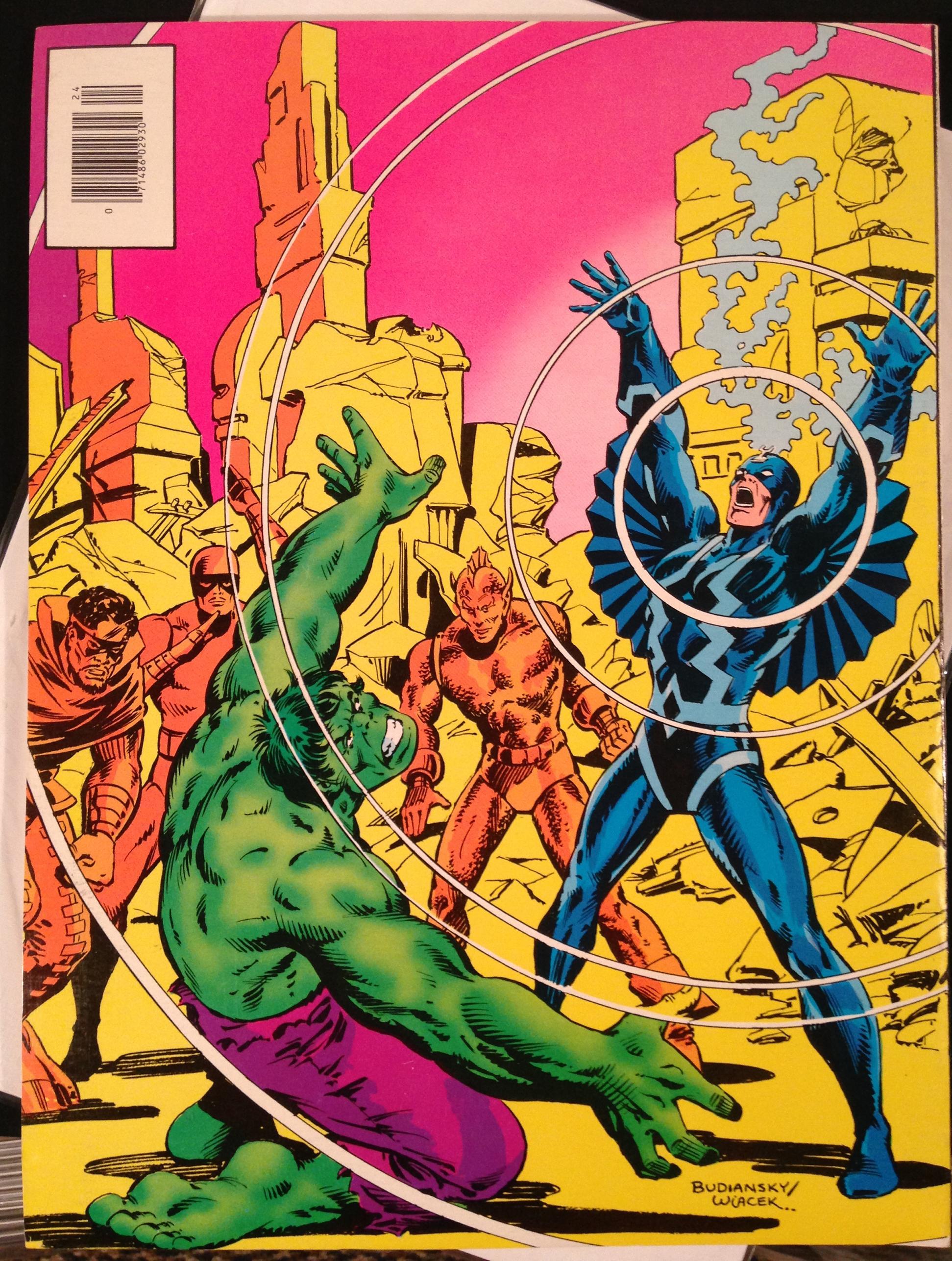 Marvel Treasury Edition 24 Rampaging Hulk Warlock (3)