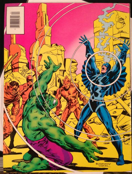 Marvel Treasury Edition 24 Rampaging Hulk Warlock (3)