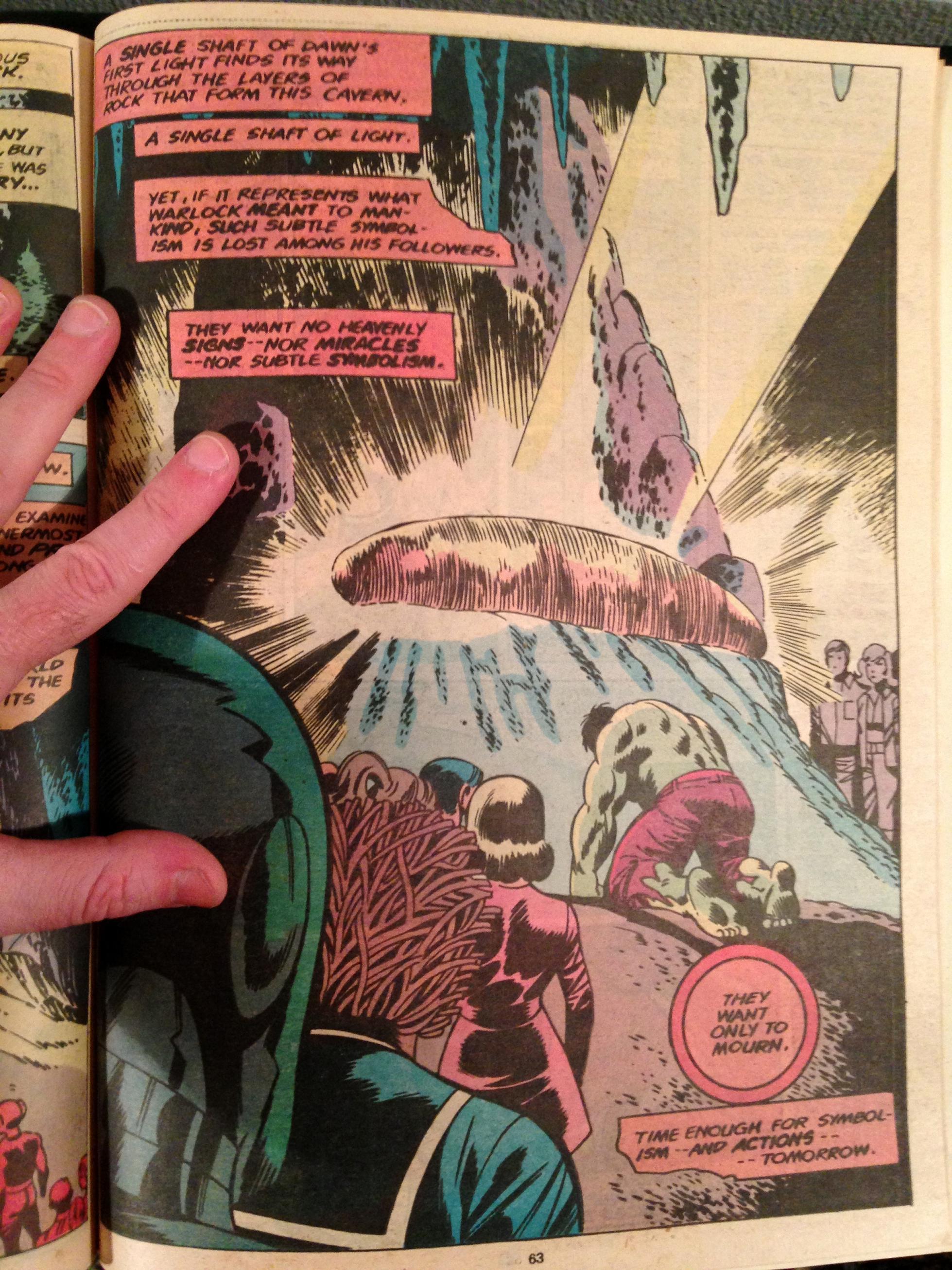 Marvel Treasury Edition 24 Rampaging Hulk Warlock (5)
