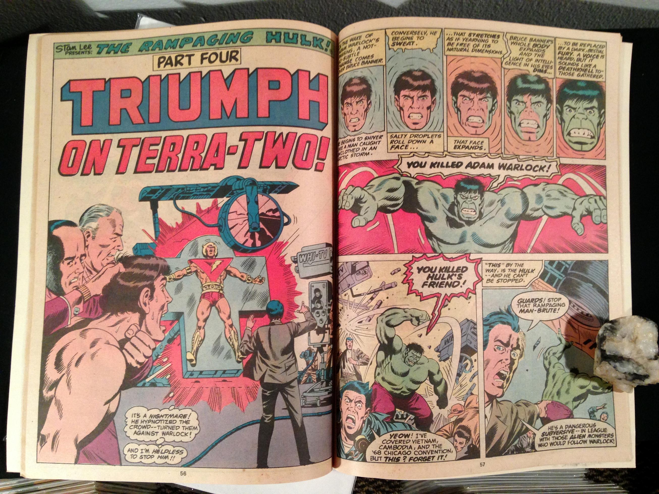 Marvel Treasury Edition 24 Rampaging Hulk Warlock (7)