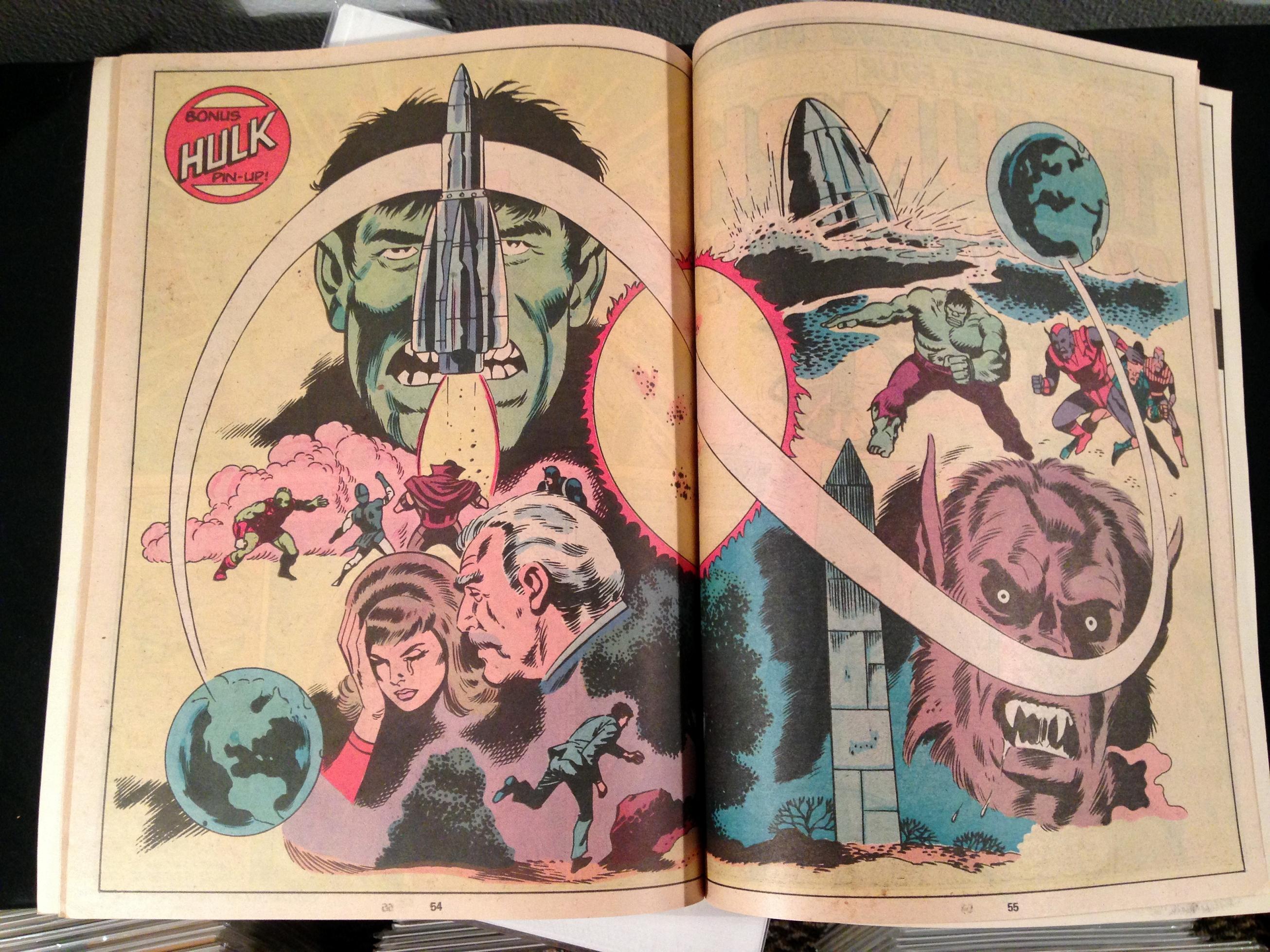 Marvel Treasury Edition 24 Rampaging Hulk Warlock (8)