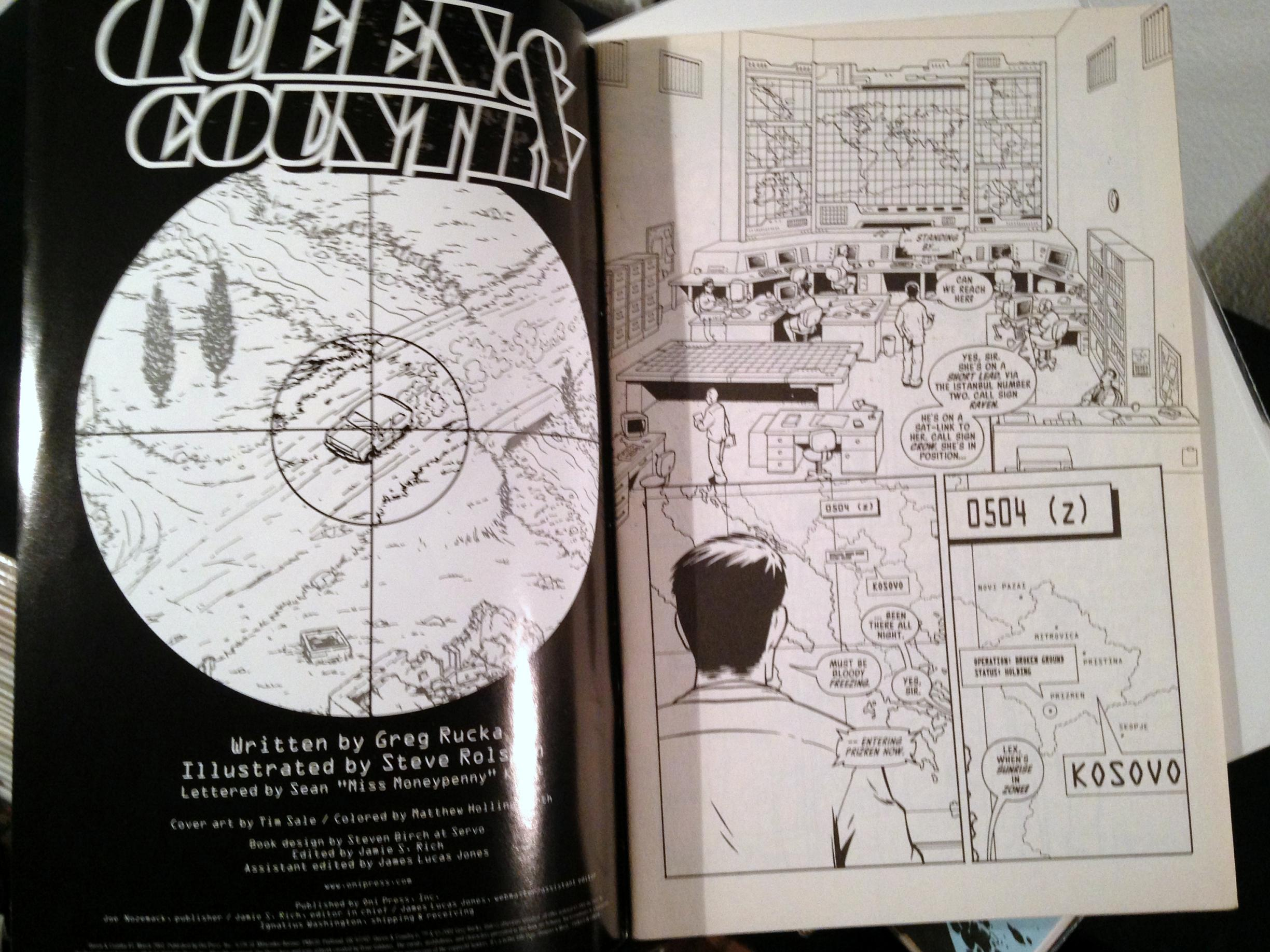 Queen and Country Collection (4)