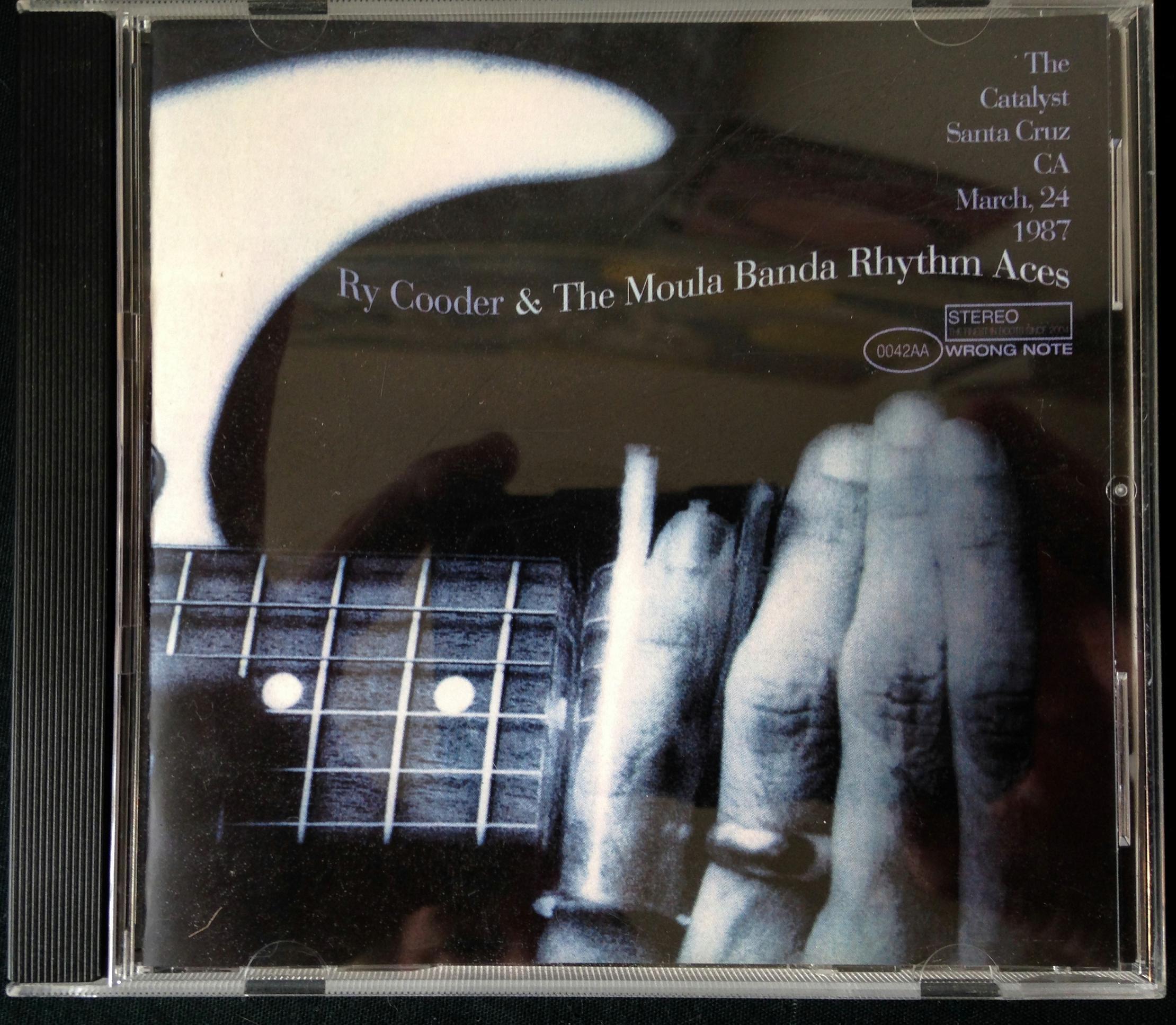 Ry Cooder and the Moula Banda Rhythm Aces CD (2)