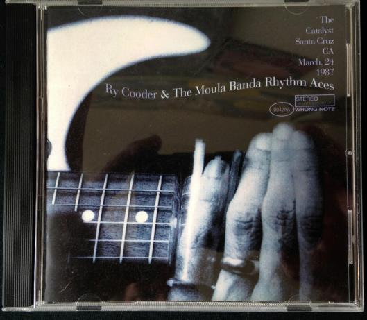 Ry Cooder and the Moula Banda Rhythm Aces CD (2)